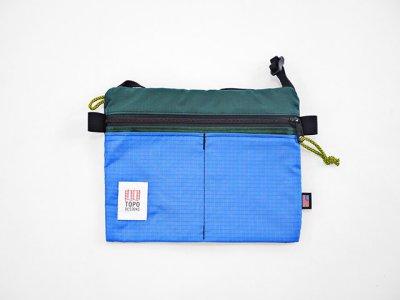画像2: TOPO DESIGNS <Accessory Shoulder Bag/アクセサリーショルダーバッグ>フォレスト×ロイヤル